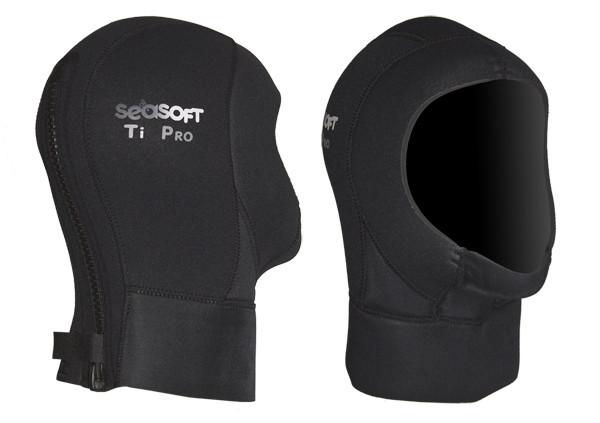 SEASOFT Ti PRO™ Drysuit Hood w/ zip