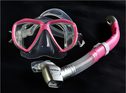 SEASOFT VISIONMASTER Super Mask Pink/Silver/Clear
