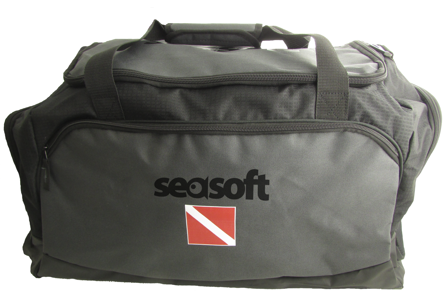 "SEASOFT's ""RANGER"" Gear Bag with 4 exterior pockets and 1 interior pocket"