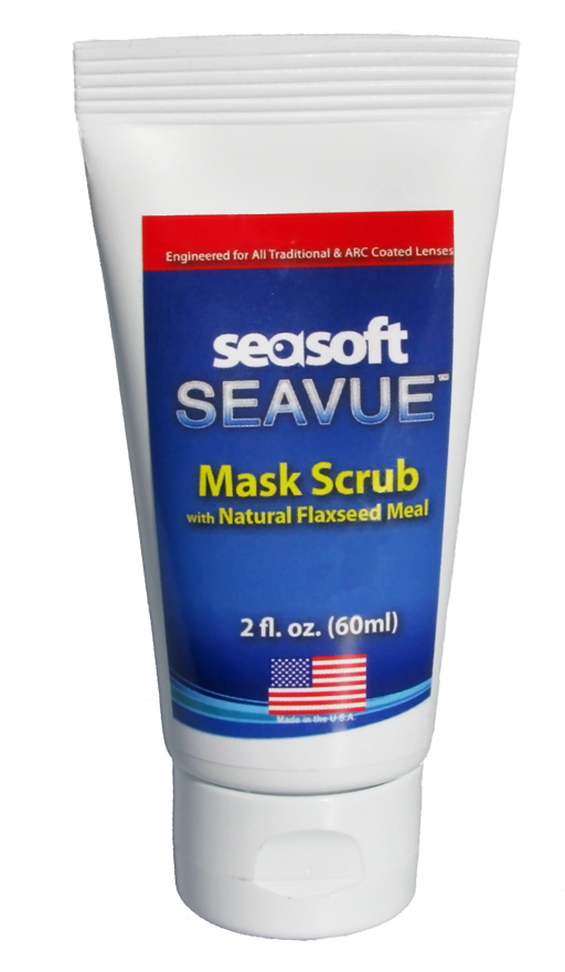 SEASOFT's SEAVUE 2 oz. MASK SCRUB