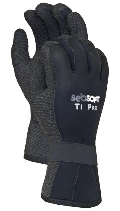 SEASOFT Ti PRO 3mm Kevlar Gloves