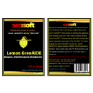 SEASOFT's Lemon GrenAIDE™ 12 oz. Cleaner, DISINFECTANT and Deodorizer SPRAY for stinky gear, countertops, most surfaces.  KILLS COVID-19 ON CONTACT!