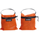 SEASOFT ORANGE MESH WEIGHT POCKETS