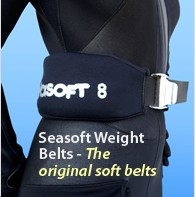 Soft weight belts